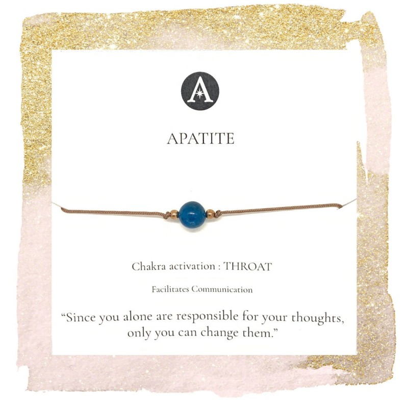 Apatite Chakra Bracelet
