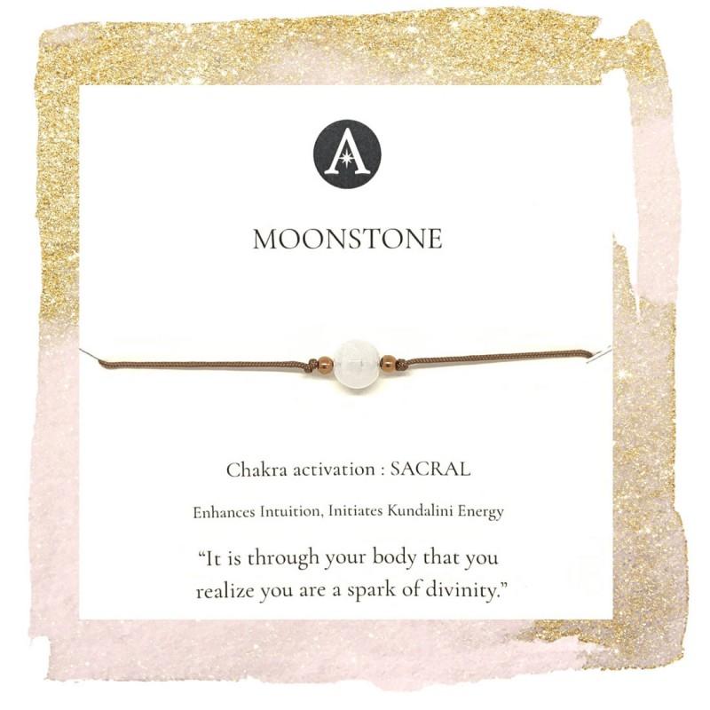 Moonstone Chakra Bracelet