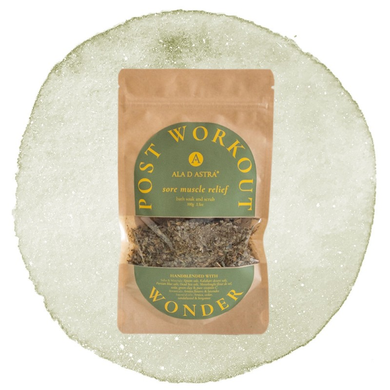 Post Workout Wonder- Sore Muscle Relief Bath Soak