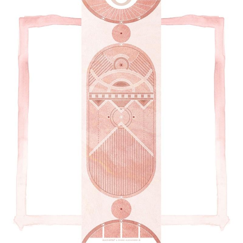 Rhodochrosite Scarab