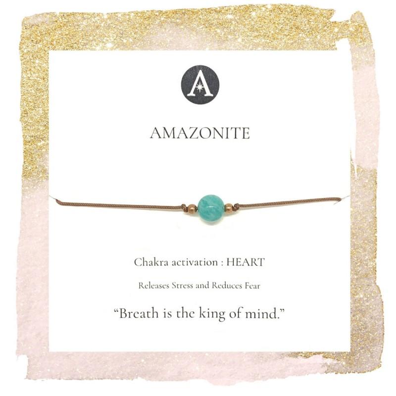 Amazonite Chakra Bracelet