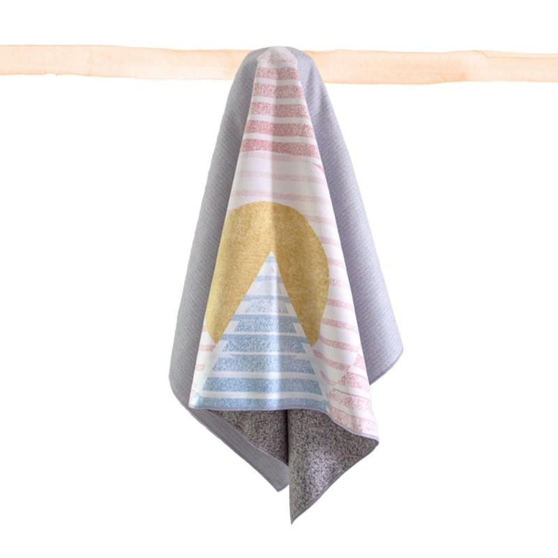 Pyramids Small Towel