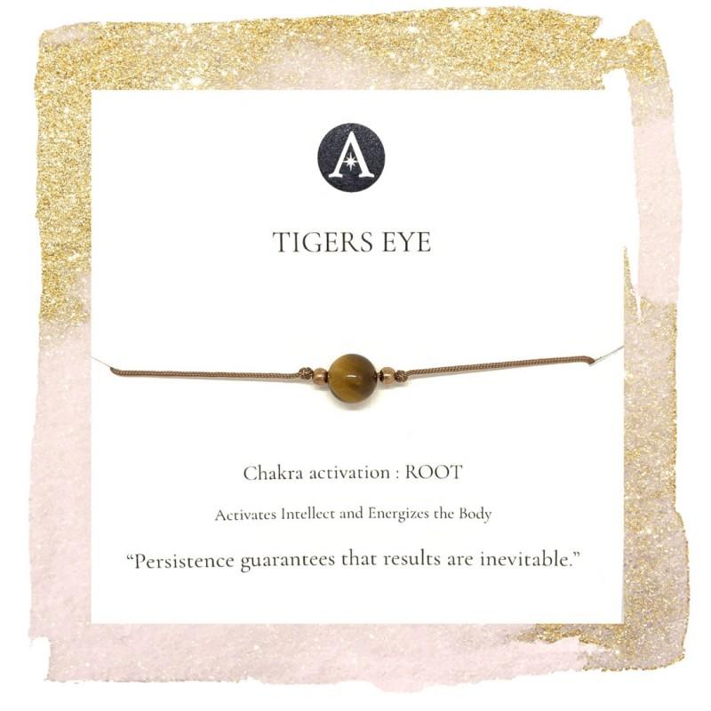 Tigers Eye Chakra bracelet